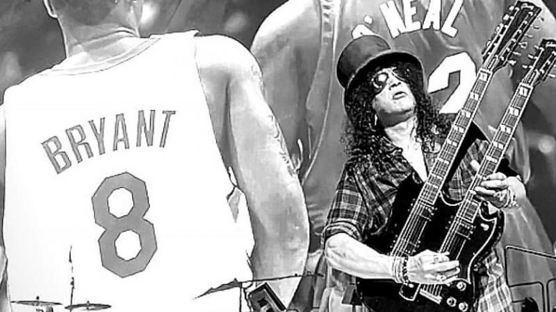 """Guns N' Roses dedicó """"Knocking On Heavens Door"""" a la memoria de Kobe Bryant y su hija"""