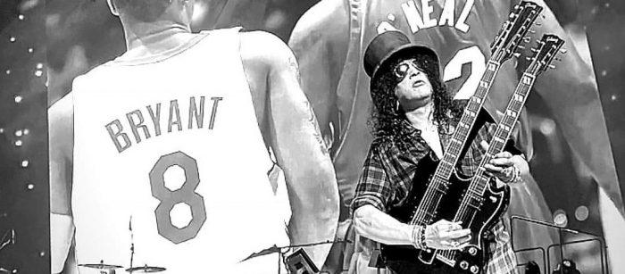"""Guns N' Roses dedicó """"Knockin' on Heaven's Door"""" a la memoria de Kobe Bryant y su hija"""
