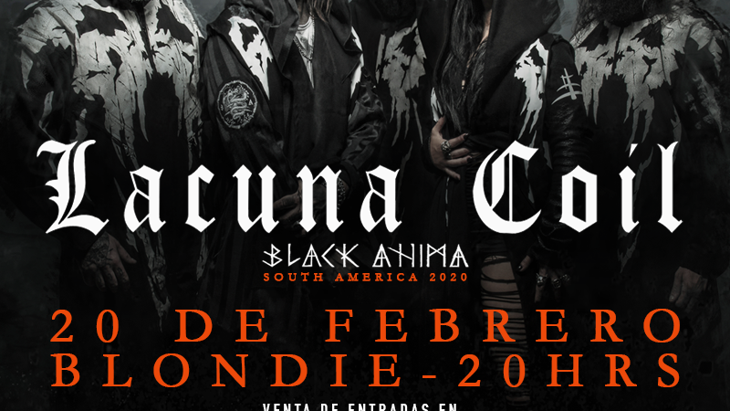 Lacuna Coil regresa a Chile con la gira de su nuevo álbum