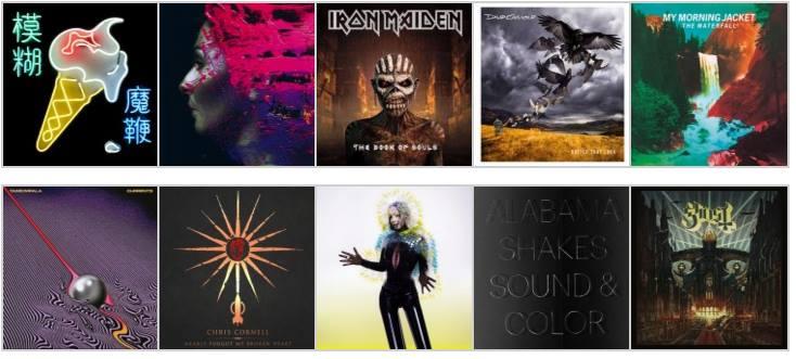 Nacion Rock Awards: Los mejores discos internacionales del 2015 (Del 20 al 1, Segunda parte)