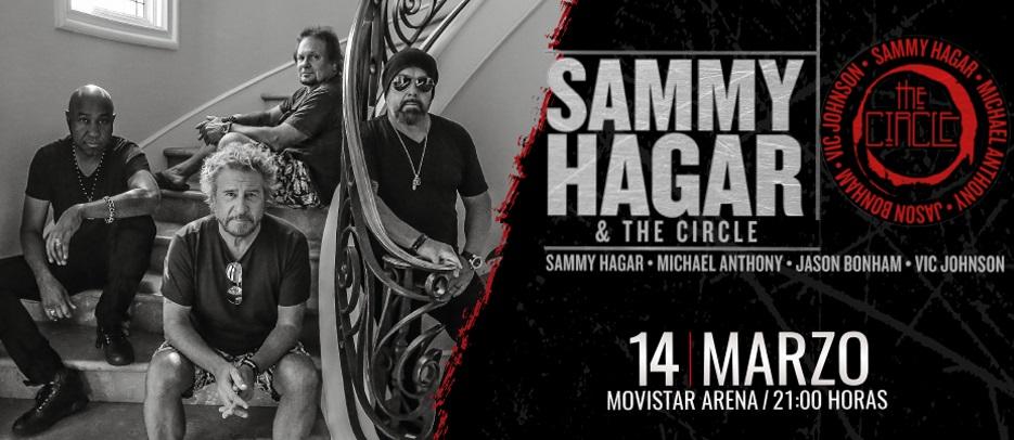 Concurso: Gana entradas para Sammy Hagar en Chile junto a The Circle