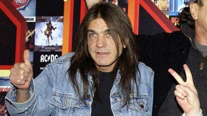 Adiós Malcolm Young: Para todos los que nos gusta el rock, te saludamos!