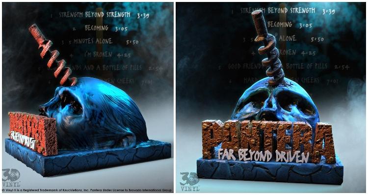 """Pantera lanzará reedición en vinilo tipo escultura 3D de lujo de """"Far Beyond Driven"""""""