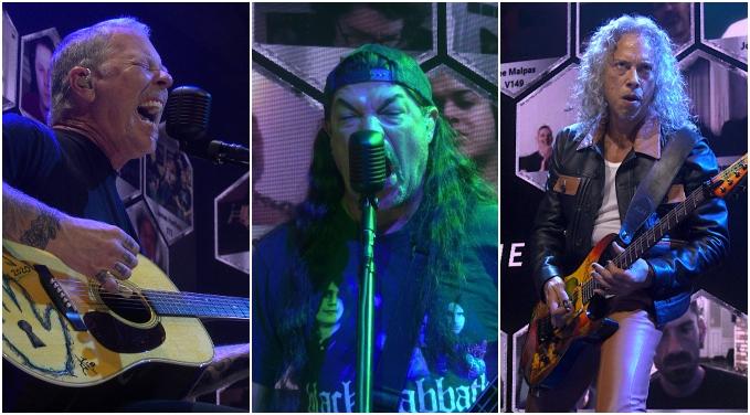 VIDEO: Con show eléctrico y acústico, así fue el regreso de Metallica a los conciertos