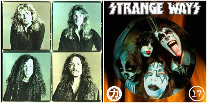 "2×1: ""Strange Ways"" Kiss vs. Megadeth"