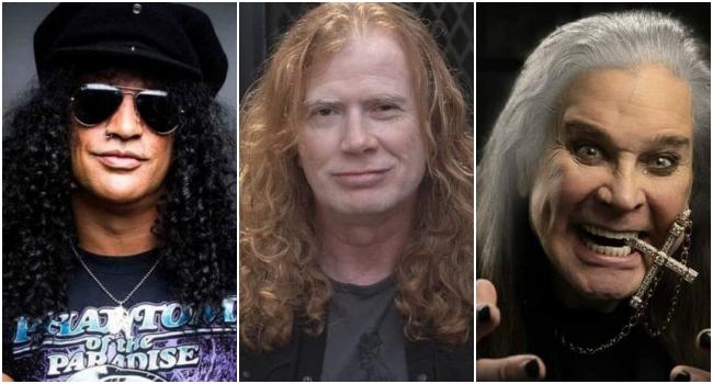 """VIDEO: Ozzy, Slash, """"Head"""" de Korn y más estrellas de rock y metal le dedicaron feliz cumpleaños a Dave Mustaine en vivo"""