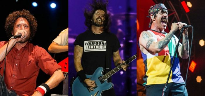 Rage Against the Machine, Red Hot Chili Peppers y Foo Fighters coincidirán en un mismo festival