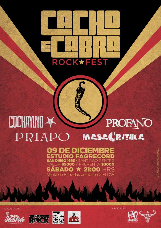 Detalles de la nueva versión de CACHO E CABRA FEST, festival de bandas under nacionales