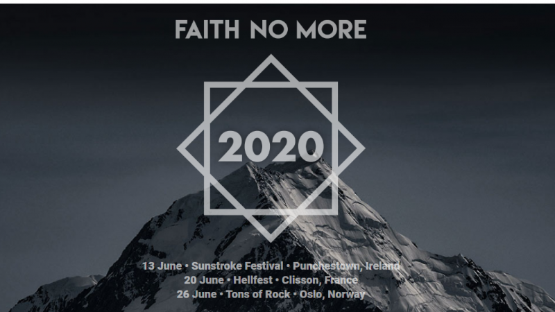 Misterio Faith No More revelado: ¡Tendremos reunión de la banda en 2020!