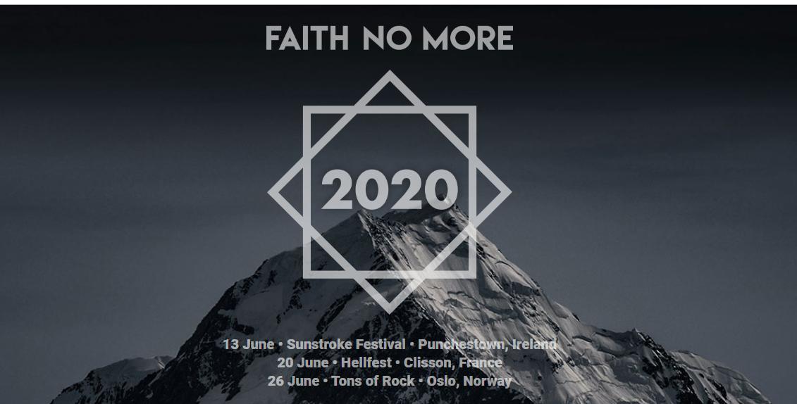 Misterio Faith No More revelado: ¡Tendremos reunión de la banda en 2020!