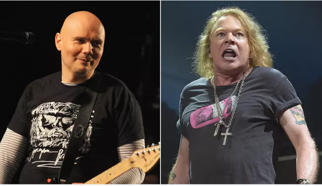 Guns N' Roses realizará una gira de estadios junto a The Smashing Pumpkins