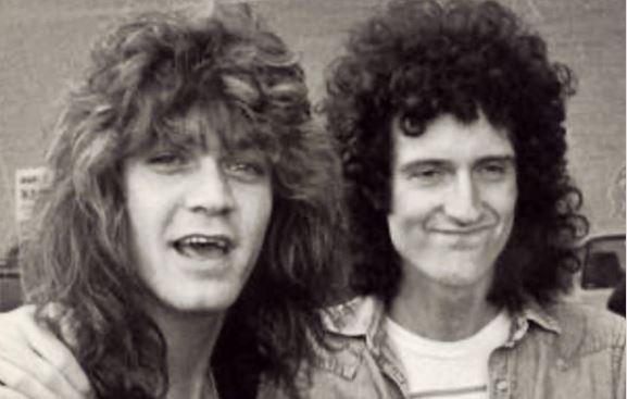 """Brian May sobre Eddie Van Halen: """"Amaba su forma de tocar guitarra y siempre lo haré"""""""