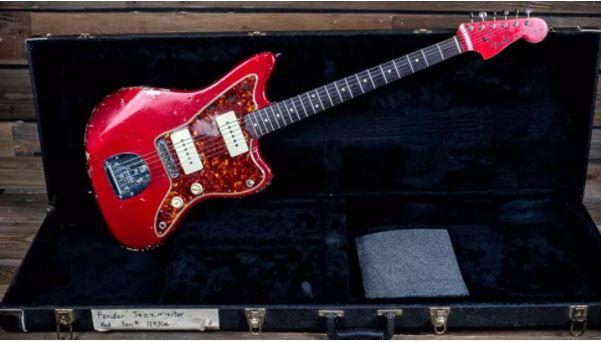"""Subastarán la guitarra de """"Superunknown"""" de Chris Cornell"""