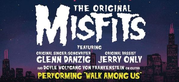 """Misfits tocarán completo el clásico """"Walk Among Us"""" en su presentación en el Riot Fest 2022"""