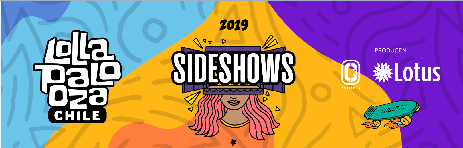 sideshows lollacl 2019