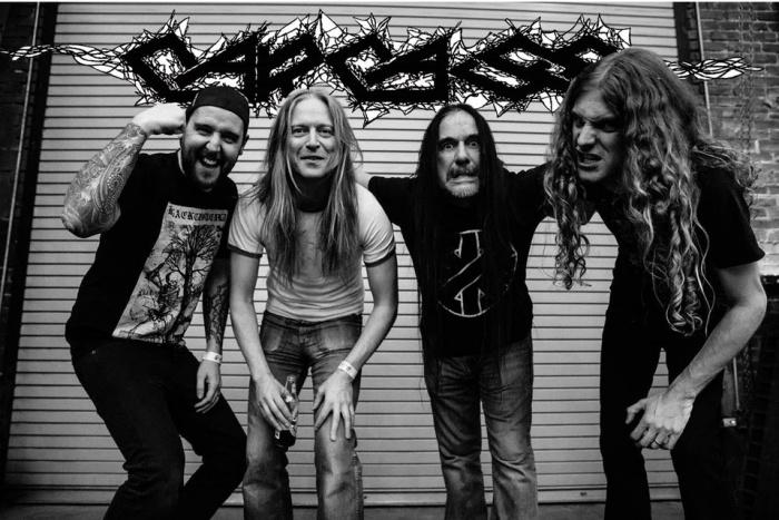 """""""Torn Arteries"""": Carcass anuncia su nuevo álbum de estudio"""