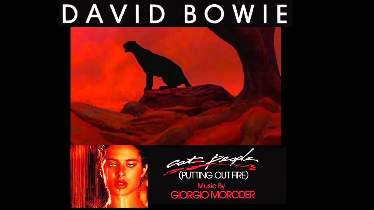 "Cancionero Rock: ""Cat People""- David Bowie (1982)"