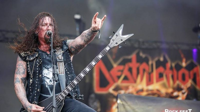 VIDEO: Destruction realiza el primer show con distanciamento social desde el azote de la Pandemia