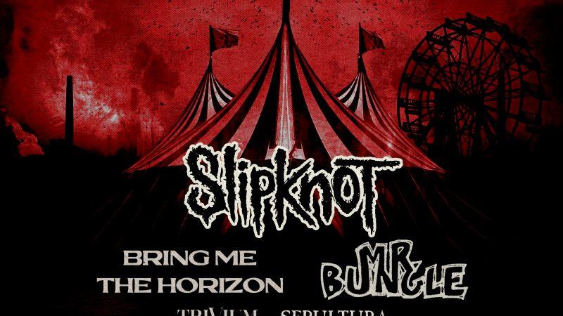 Confirmado: Slipknot y Mr. Bungle llegan a Chile en primera edición del Knotfest en nuestro país