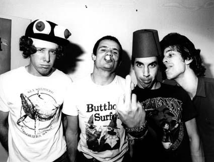 Red Hot Chili Peppers y sus sinfonías de cuna: las mejores canciones 1984-1989