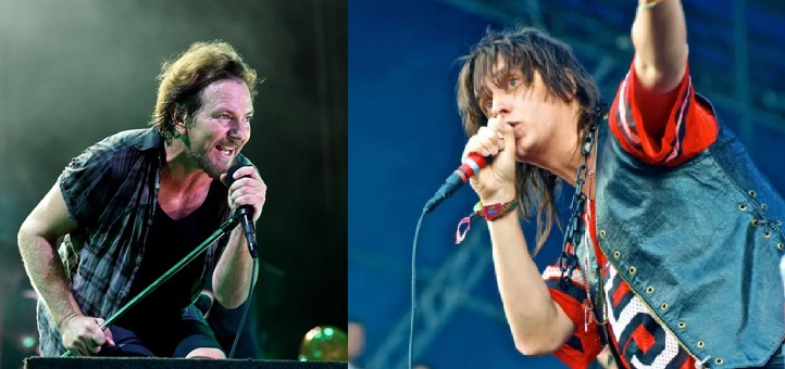 VIDEO: Mira a Eddie Vedder y The Strokes actuar juntos en vivo