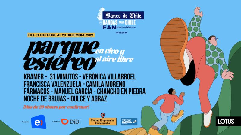 Parque Estéreo: el ciclo musical con más de 20 shows al aire libre