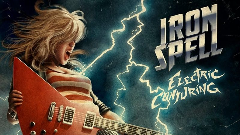 """Electric Conjuring"": punzante heavy metal chileno de Iron Spell"