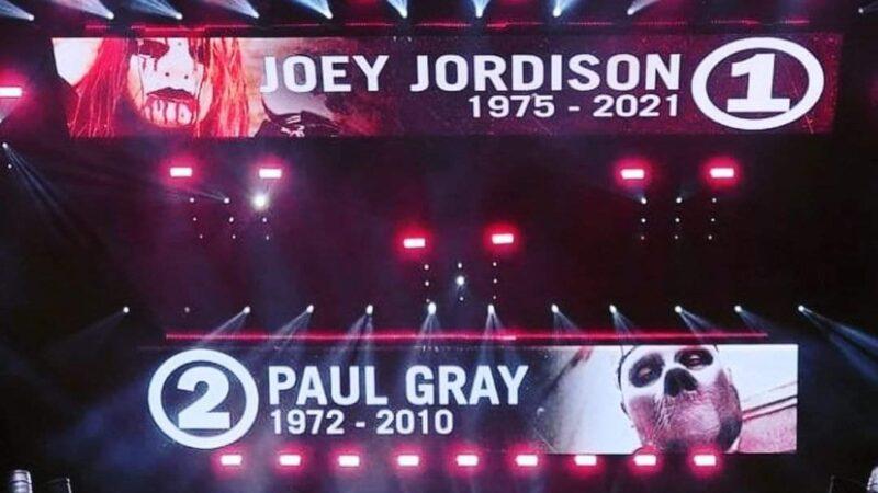 Slipknot dedica homenaje a Joey Jordison y Paul Gray en su presentación en el Knotfest