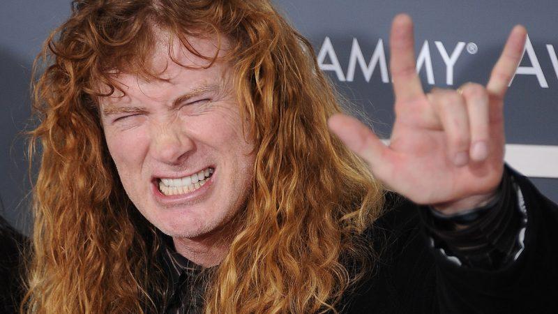 Dave Mustaine confirma que le ha ganado la batalla al cáncer