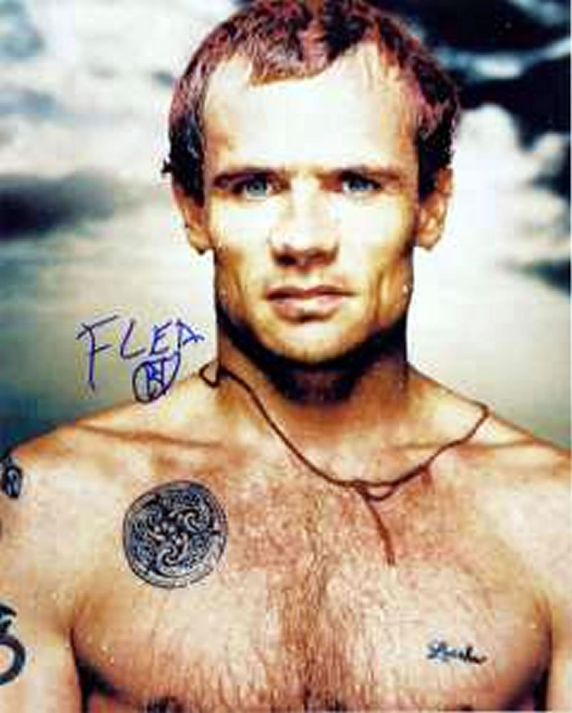 """Flea de Red Hot Chili Peppers: """"Haremos 18 canciones nuevas durante los próximos seis meses"""""""