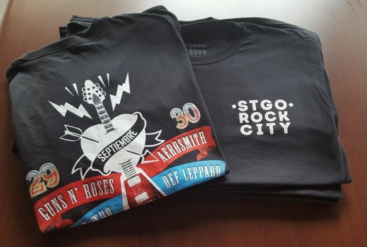Concurso: Gana poleras y afiches del Santiago Rock City contando tu historia con las bandas del festival