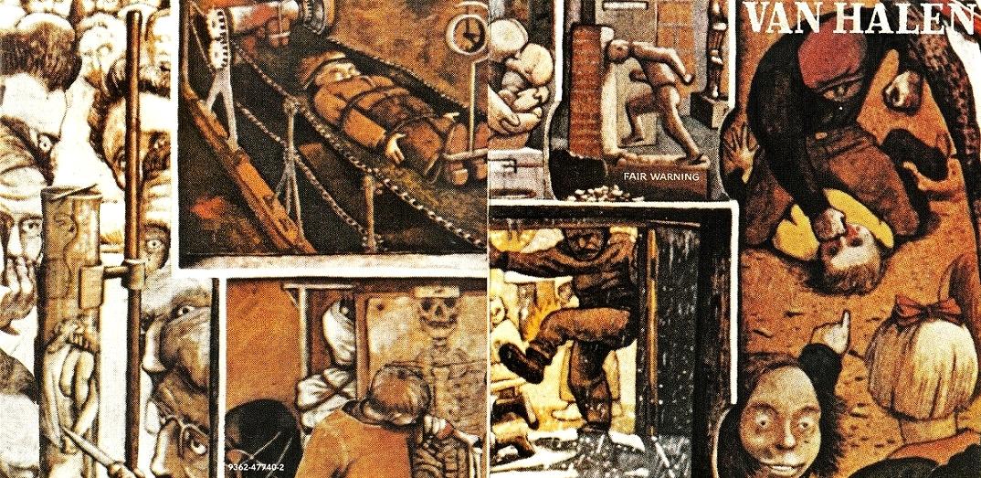 """""""Fair Warning"""": Van Halen expandiendo el abanico sonoro"""