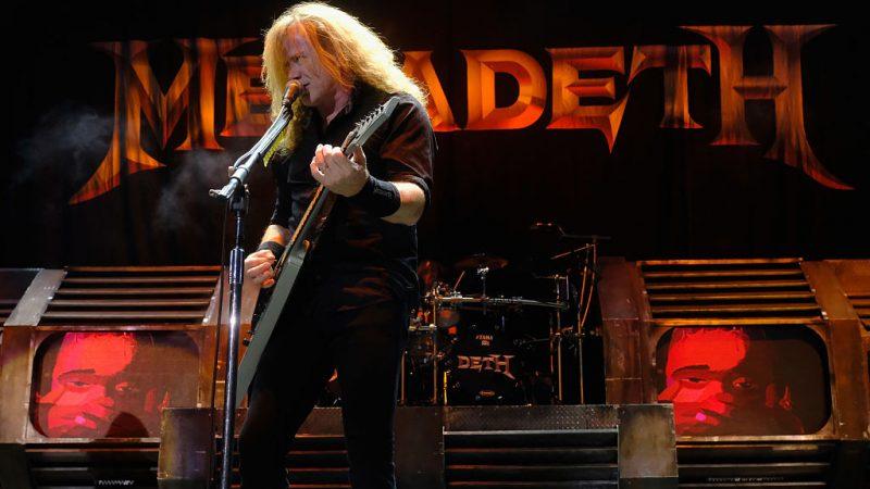 Video: Así fue el regreso de Megadeth a los escenarios tras 15 meses de ausencia
