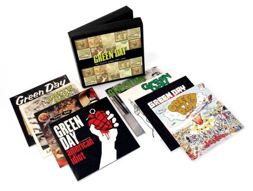 Green Day lanza box set de lujo con toda su discografía