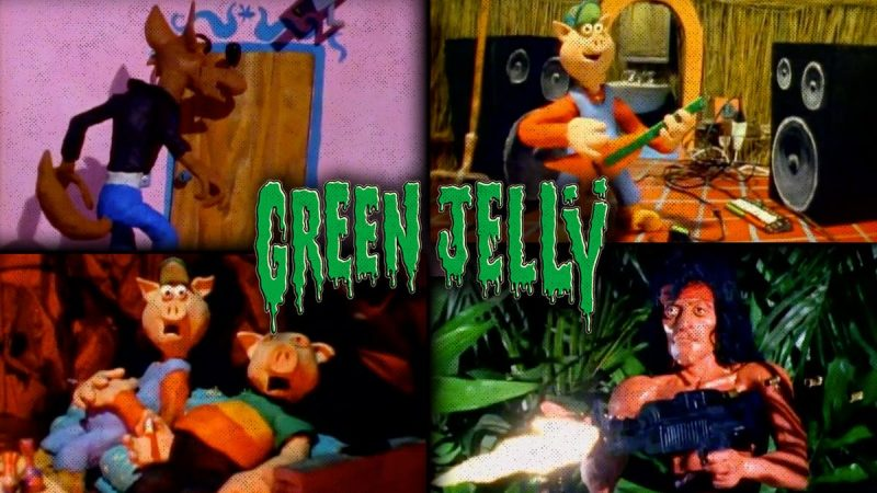 "Videografía Rock: ""Three Little Pigs""- Green Jelly"