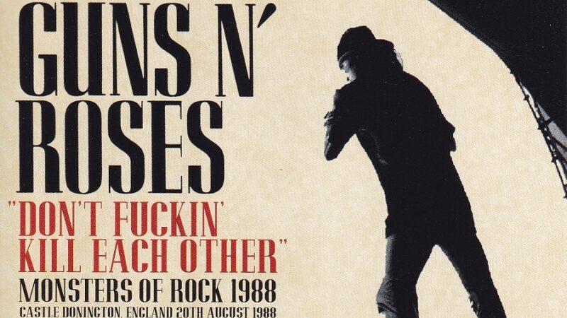 Monsters of Rock 1988: el trágico concierto de Guns N' Roses