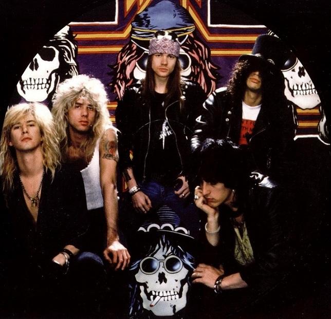 Disco Inmortal: Guns N' Roses – Appetite for Destruction (1987) - Nación  Rock