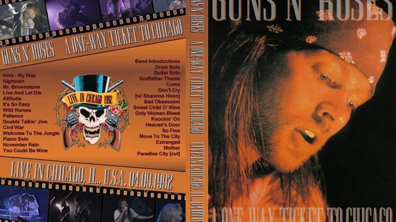 Conciertos que hicieron historia: Guns N' Roses en Chicago (1992)