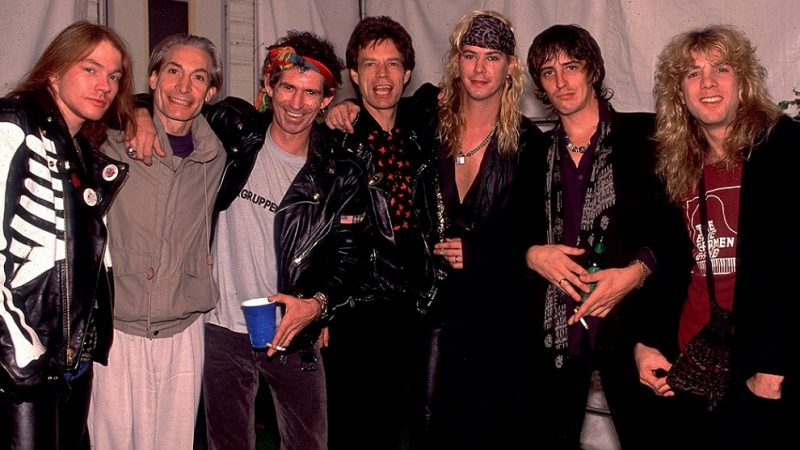 Drogas, riñas y piedras rodantes: Guns N' Roses durante 1989