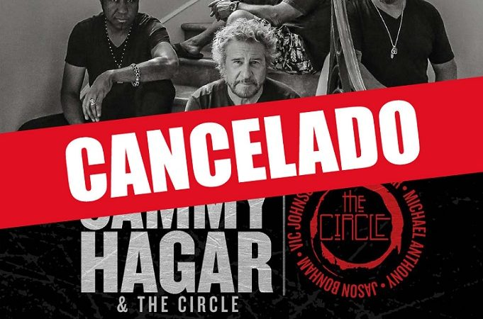 Se cancela el concierto de Sammy Hagar & The Circle en Chile