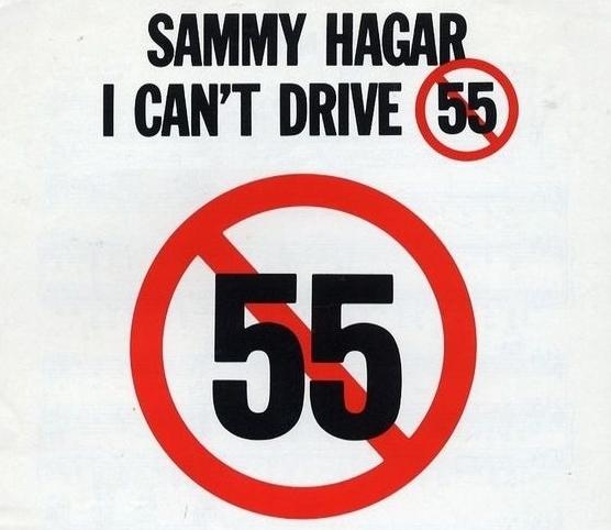 "Cancionero Rock: ""I Can't Drive 55"" – Sammy Hagar (1984)"
