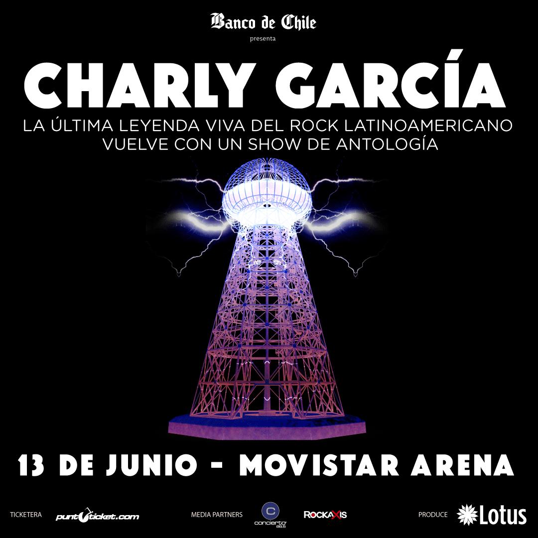 Charly García, la leyenda del rock argentino vuelve a Chile