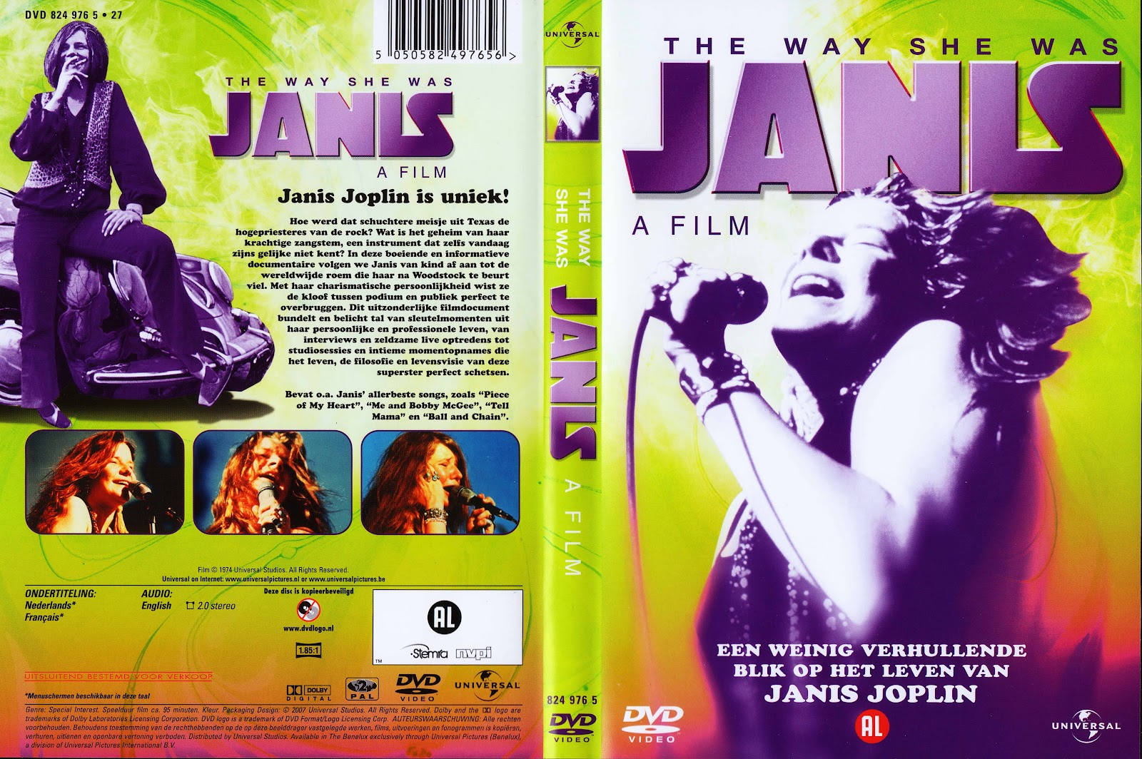 Rockumentales: Janis, The Way She Was