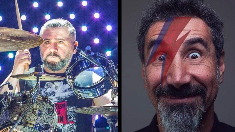 """Serj Tankian y John Dolmayan reviven el espíritu de SOAD con su versión de """"Starman"""" de David Bowie"""