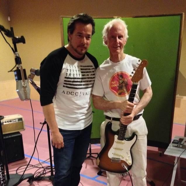 Robby Krieger, el legendario guitarrista de The Doors participa en el nuevo disco solista de John García (Kyuss)