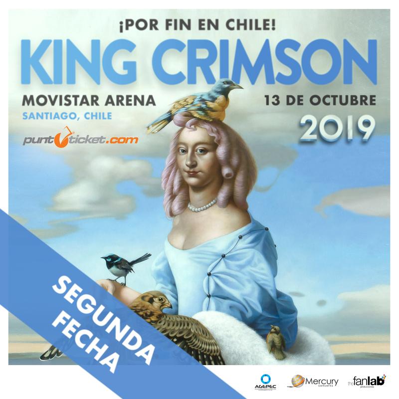 Locura Total: King Crimson anuncia segundo concierto en Chile