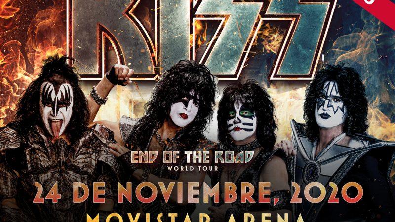 Kiss reagenda su llegada a Chile para fines de noviembre