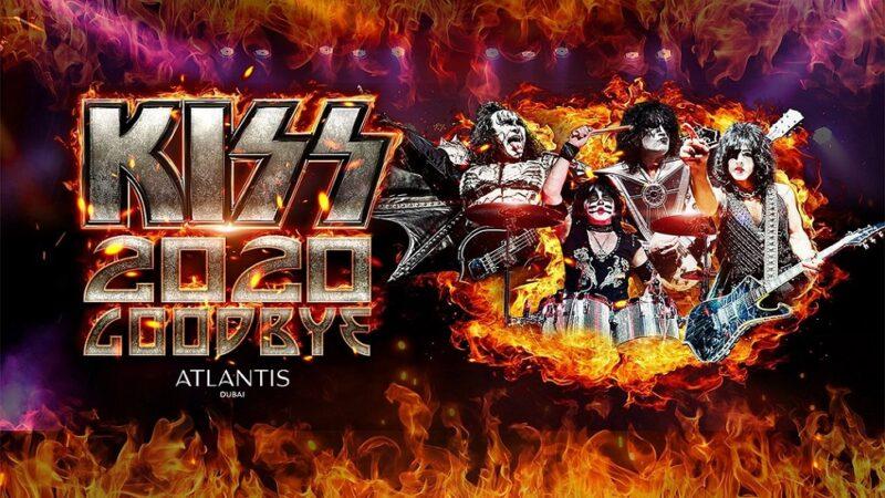 Kiss ofreció inmenso show de año nuevo en Dubái y entró al Libro Guinness de Récords