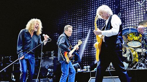 ¿Se lanzará CD/DVD con show de reunión de Led Zeppelin?