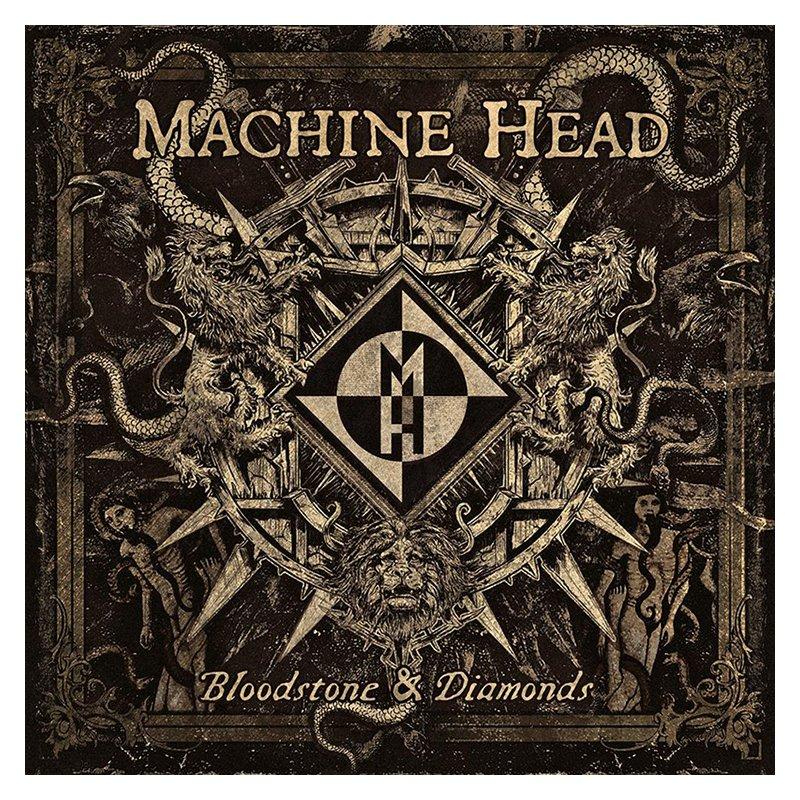 """Escucha completo en exclusiva """"Bloodstone & Diamonds"""", el nuevo disco de Machine Head"""